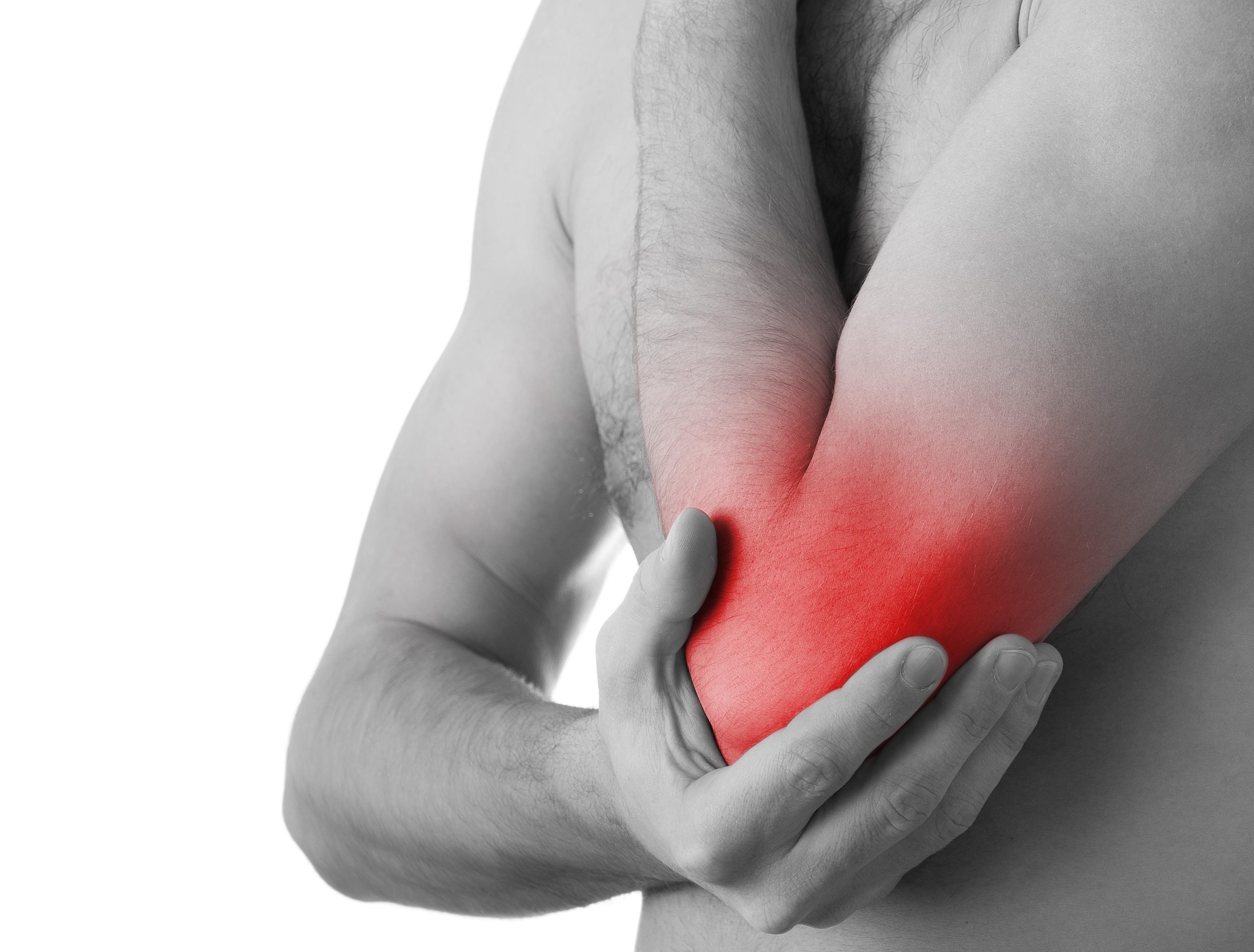 könyökízület fáj edzés után