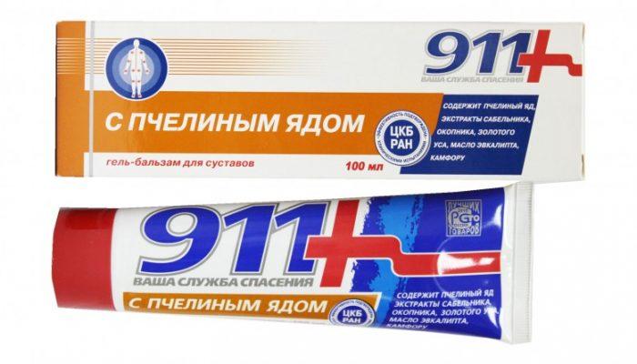 911 gél ízületi fájdalmak kezelésére