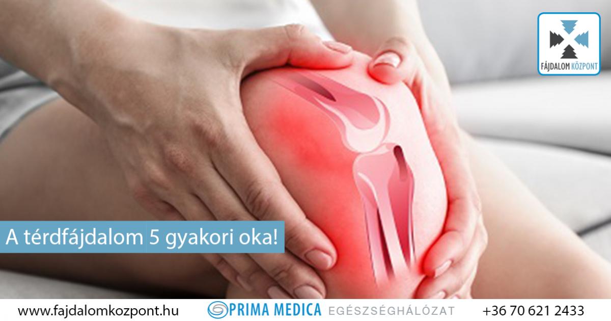 izomfájdalom a térdízület körül térdízület ragasztói és inak sérülései