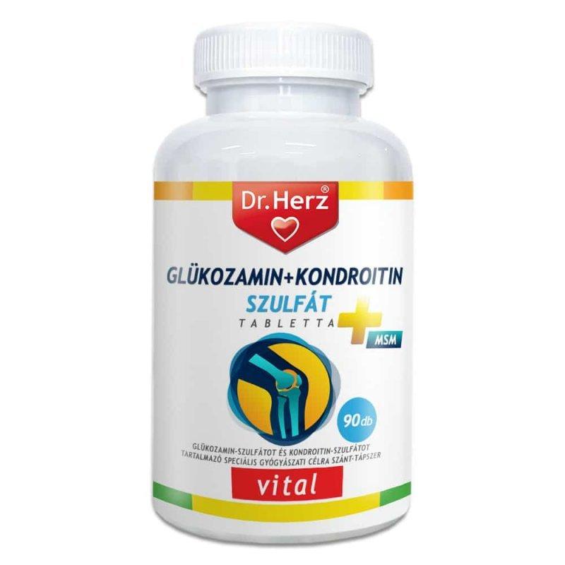 glükozamin-kondroitin-vitaminok a sérült ízület ízületi gyulladása