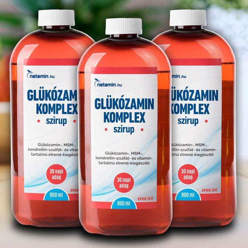 kondroitin és glükozamin folyadék a bokaízület artrózisa 1 2 fok