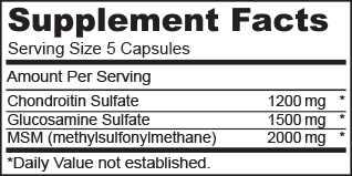 kondroitin és glükózamin beadása