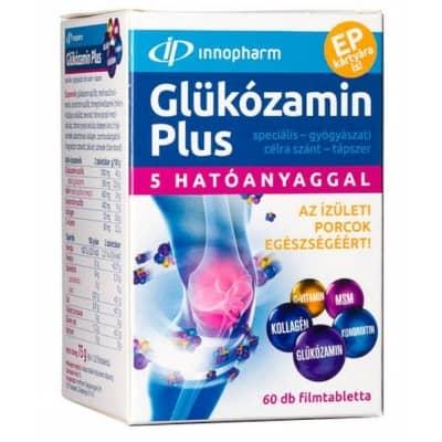 JutaVit Glükozamin-Kondroitin-MSM tabletta - 144db - bio