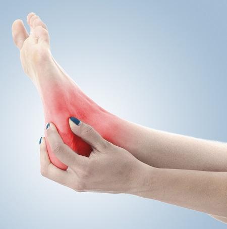 hogy a bokaízület fájdalma